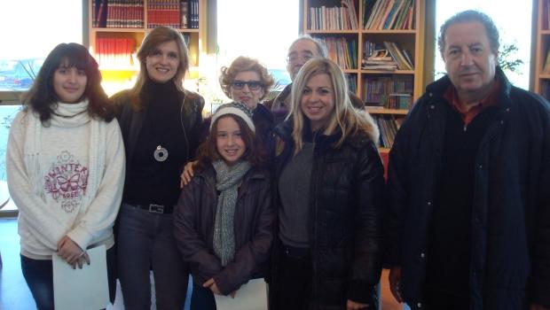 Το γυμνάσιο ΑΞΙΟΝ τιμά την Κατίνα Βέικου Σεραμέτη…