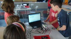 ΑΞΙΟΝcamp 2014, Εβδομάδα 3η: Ρομποτική και Φυσικές Επιστήμες