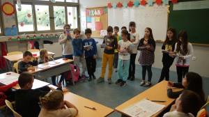 Το δημοτικό ΑΞΙΟΝ τίμησε την Ευρωπαϊκή ημέρα γλωσσών