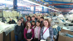 Επίσκεψη της Δ' Δημοτικού στην Cocomat