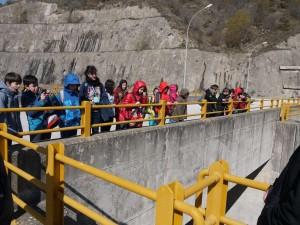 Επίσκεψη της Ε και ΣΤ τάξης στο φράγμα του Θησαυρού και το κέντρο ελέγχου του υδροηλεκτρικού εργοστασίου.