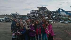 Η Γ' Δημοτικού σε μονάδα ανακύκλωσης μετάλλου