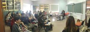 Επίσκεψη του Λυκείου ΑΞΙΟΝ Ξάνθης στο Europe Direct Xanthi