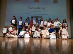 Διάκριση στον διαγωνισμό Hackathlon