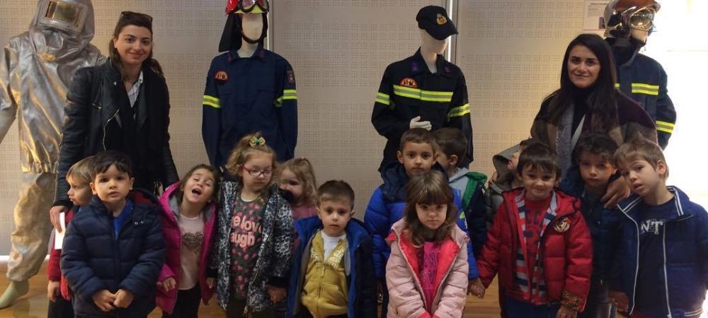 Επίσκεψη στην έκθεση της πυροσβεστικής υπηρεσίας Ξάνθης
