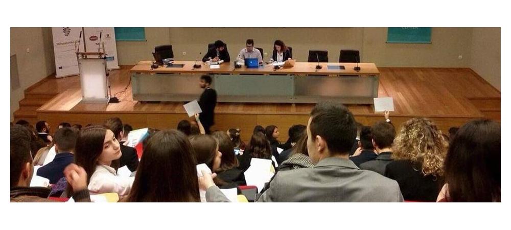 Συμμετοχή στη 36η Εθνική Συνδιάσκεψη του Ευρωπαϊκού Κοινοβουλίου Νέων Ελλάδος