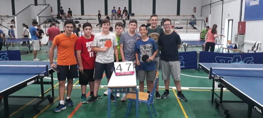 Συμμετοχή στους αγώνες Επιτραπέζιας Αντισφαίρισης