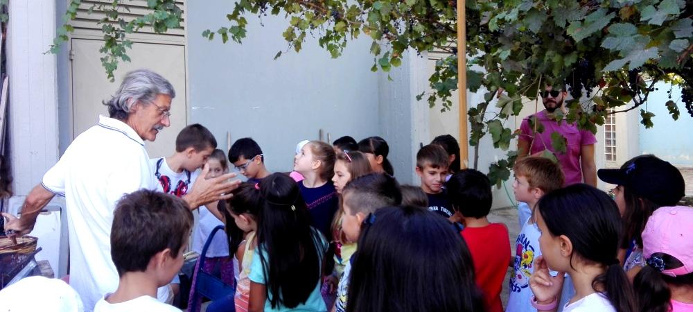 Ο τρύγος στο σχολείο μας