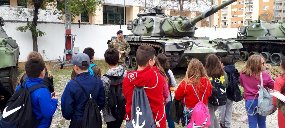 Στο στρατιωτικό μουσείο