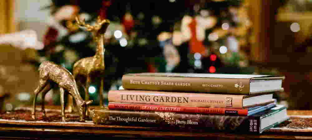 A flower grower's Christmas reading list
