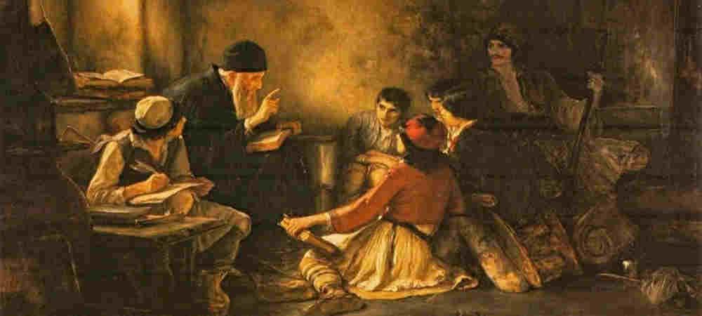 nikolaos-gyzis-the-underground-school-1885-1